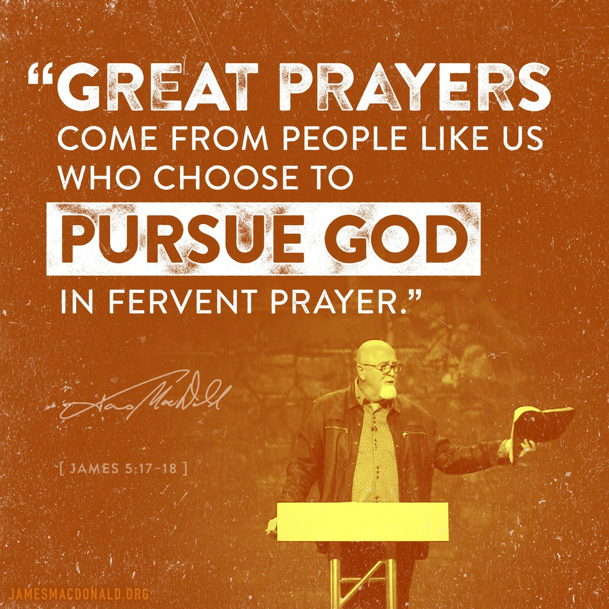 """Fervent """"Boiling"""" Prayer"""
